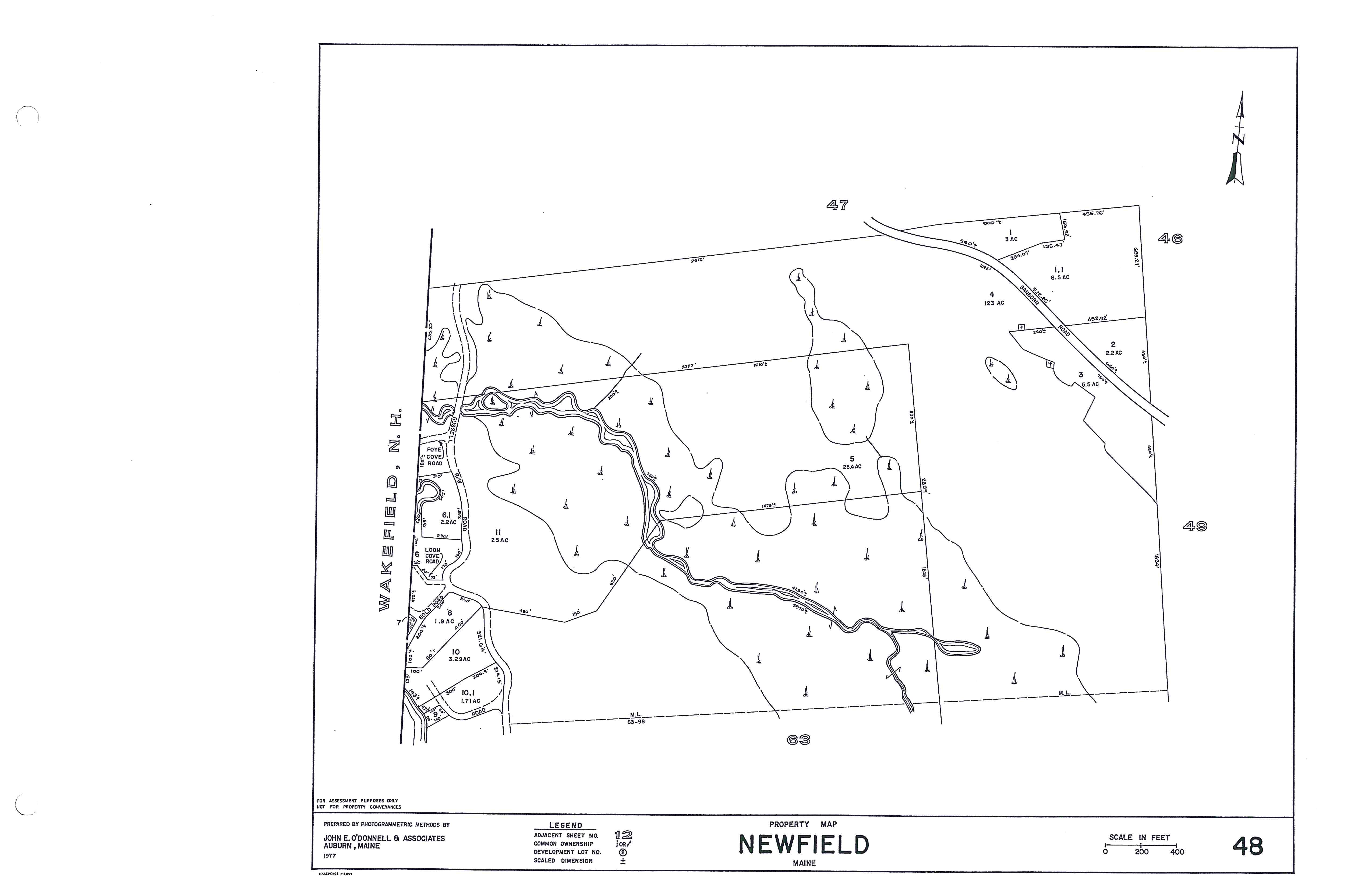 PROPERTY TAX MAPS - Town of Newfield - Town of Newfield on