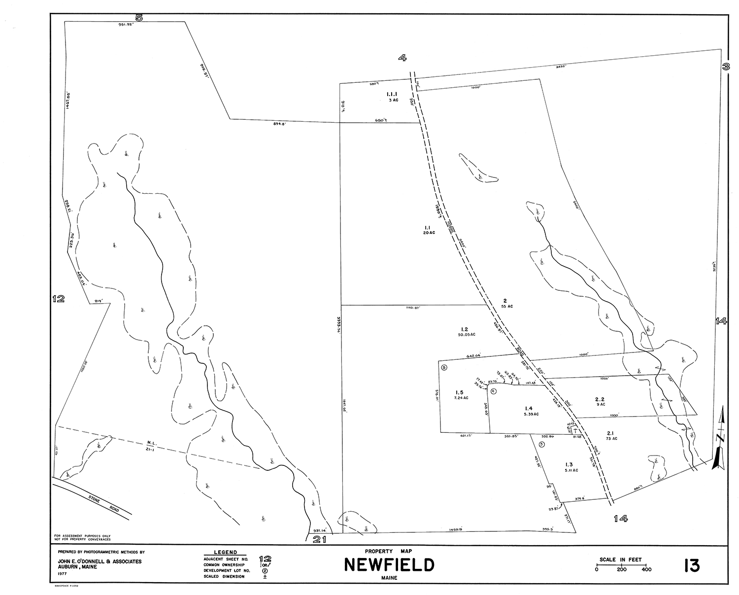 newfield lot map